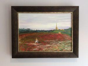 poppies, tetbury