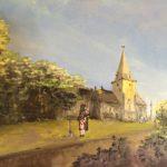 art, painting, ardingtonchurch